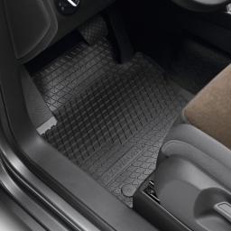 Original Volkswagen Satz Gummimatte vorn & hinten VW Bora Golf Beetle schwarz