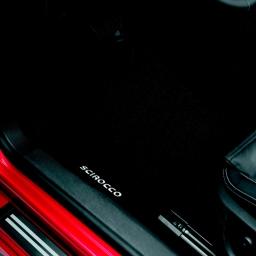Original Volkswagen Satz Textilfußmatte vorn VW Scirocco schwarz NEU