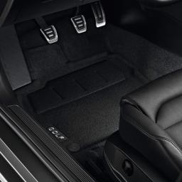 Original Volkswagen Satz Textilfußmatte vorn & hinten VW Golf VII schwarz NEU