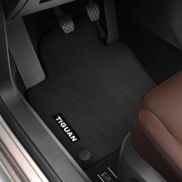 Original Volkswagen Satz Textilfußmatte Premium vorn & hinten VW Tiguan schwarz