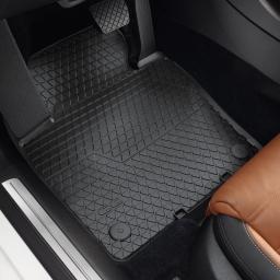 Original Volkswagen Satz Gummimatte vorn CC schwarz NEU