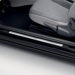 Original Volkswagen Einstiegsleiste VW up! 2-türer Edelstahl NEU