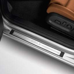 Original Volkswagen Einstiegsleiste VW Golf VI 2-türer Edelstahl (gebürstet) NEU