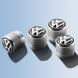 VW Ventilkappen für Gummi- , Aluminium- , Metallventile