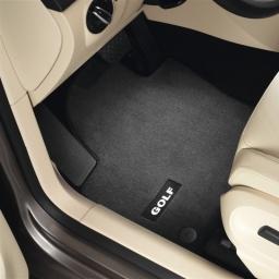 Original Volkswagen Satz Fußmatte Automatte Textil vorn VW Golf V Premium