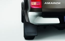Original Volkswagen Satz Schmutzfänger hinten Amarok NEU