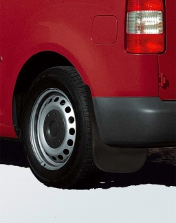Original Volkswagen Satz Schmutzfänger hinten Caddy Maxi NEU