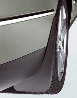 Original Volkswagen Satz Schmutzfänger hinten Passat VI 6 / VII 7 NEU