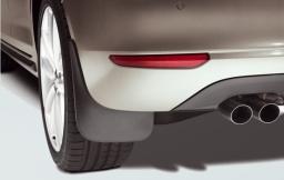 Original Volkswagen Satz Schmutzfänger hinten Golf Plus NEU