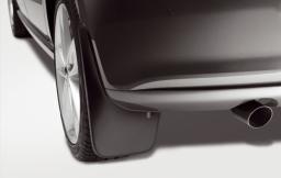 Original Volkswagen Satz Schmutzfänger hinten Polo V 5 NEU