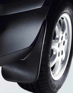 Original Volkswagen Satz Schmutzfänger hinten Sharan NEU