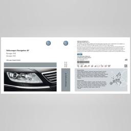 Original Volkswagen Navigationssoftware CD-ROM Paket Europa 10CD Phaeton NEU