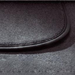 Original Volkswagen Satz Textilfußmatte Schiebetür rechts VW Caddy schwarz NEU