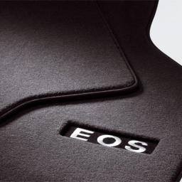 Original Volkswagen Satz Fußmatte Automatte Textil vorn hinten VW Eos Premium