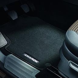Original Volkswagen Satz Fußmatte Automatte Textil vorn VW Amarok