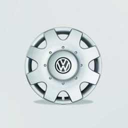 Original Volkswagen Radkappen Radzierblenden Golf Caddy Jetta Touran 16