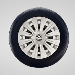 Original Volkswagen Radkappen Radzierblenden Golf VII Golf Sportsvan 15