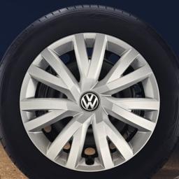Original Volkswagen Radkappen Radzierblenden Golf VII Golf Sportsvan 16