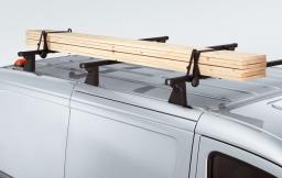 Original Volkswagen Winkelstützen rechteckig Dachtransport VW Caddy Crafter NEU