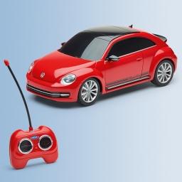 Original Volkswagen Ferngesteuertes Spielzeug Auto Beetle Modell rot NEU