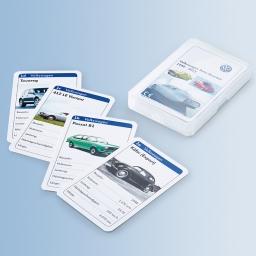 Original Volkswagen VW Auto Quartett Kartenspiel NEU