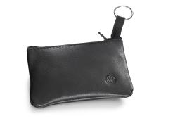 Original Volkswagen Schlüsseletui Leder schwarz NEU