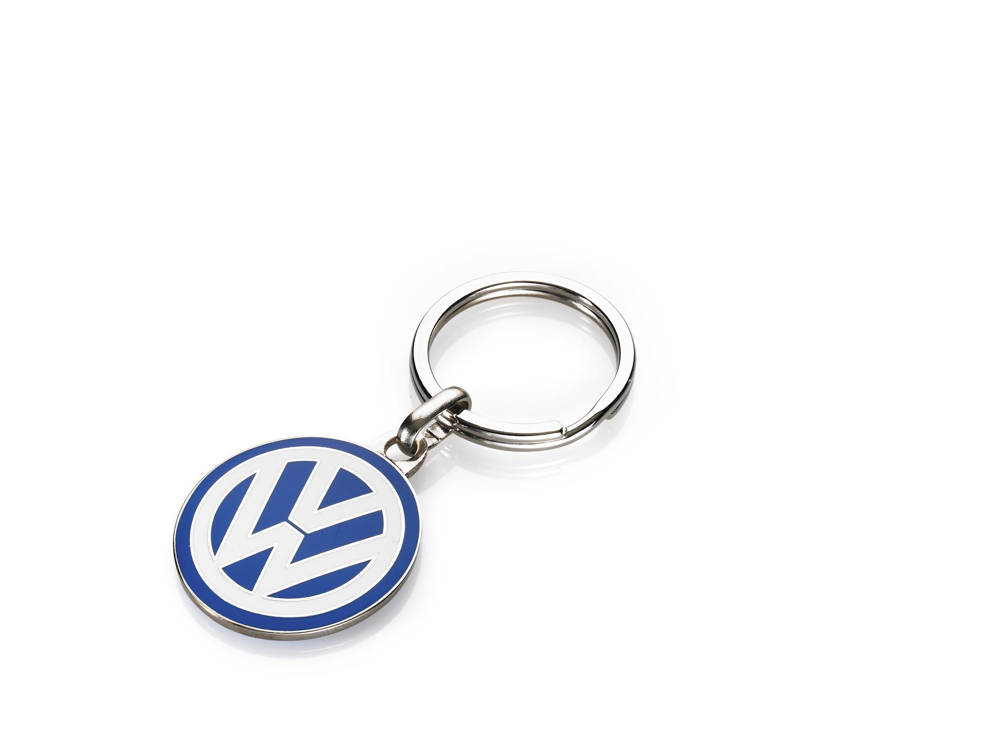 Original Volkswagen Schlüsselanhänger VW Emblem klein NEU