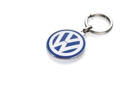 Original Volkswagen Schlüsselanhänger VW Emblem groß NEU