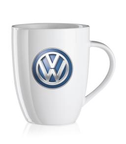 Original Volkswagen Kaffeebecher  VW Logo weiß NEU