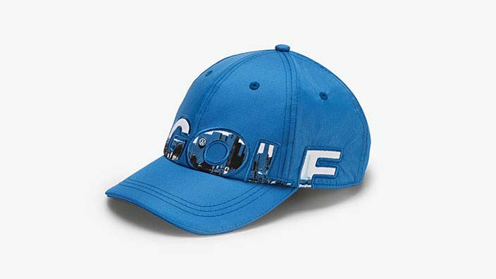 Original Volkswagen Kinder Baseballcap Golf blau NEU