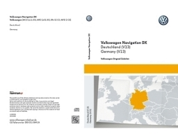 Original Volkswagen Navigationssoftware CD-ROM Deutschland NEU