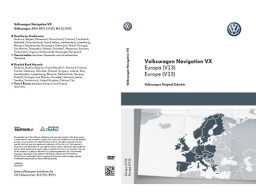 Original Volkswagen Navigationssoftware DVD Europa NEU