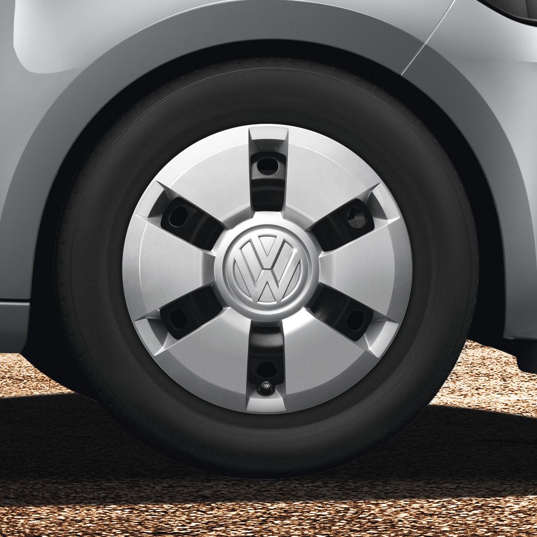 """Original Volkswagen Radkappen Radzierblenden up! 14"""" NEU"""