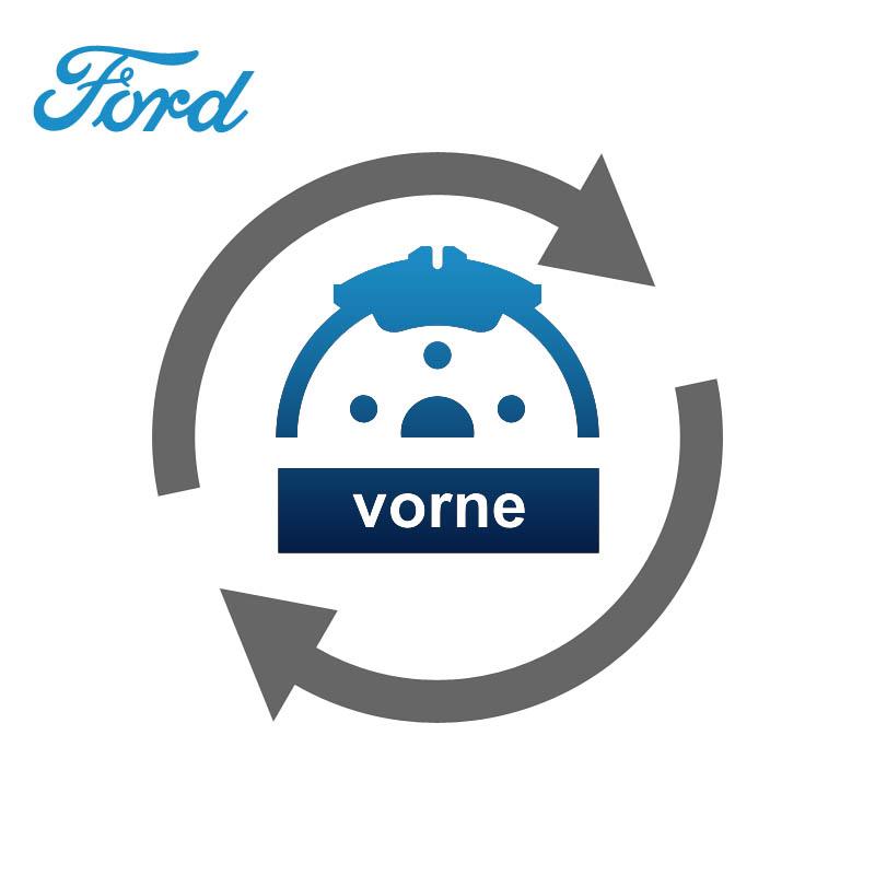 vorne Bremsscheibe und Bremsbelagwechsel / Bremsbeläge wechseln
