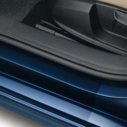 Original Volkswagen Satz Folie Einstiegsleiste vorn/hinten transparent Jetta