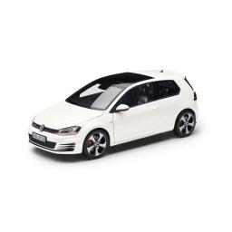 Original Volkswagen Modellauto Miniatur Golf VII GTI 1:43 Weiß