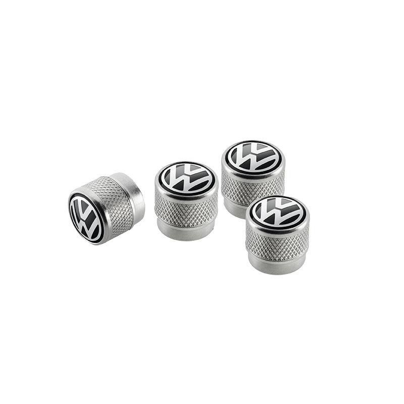 Ventilkappen mit Volkswagen Logo, für Gummi- /Metallventile