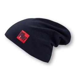 GTI Mütze aus zweilagigem Baumwolljersey mit Elasthan und seitlichem Weblabel