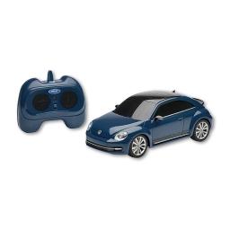 RC Beetle in blau, im Maßstab 1:24, Schweinwerfer leuchten, funkferngesteuert