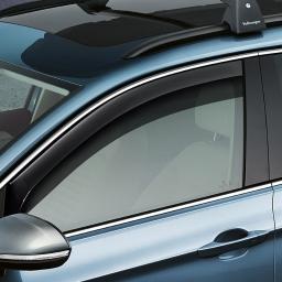 Windabweiser für Türen vorn, für optimale Be- und Entlüftung des Fahrzeugs