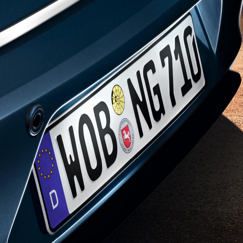 Volkswagen LED Kennzeichenbeleuchtung für perfekte Ausleuchtung und Sicherheit