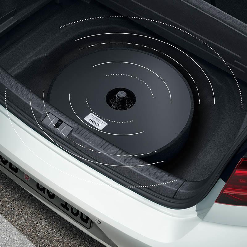 Plug & Play-Soundsystem mit 5 Kanälen, Subwoofer und 480 Watt Musik Leistung
