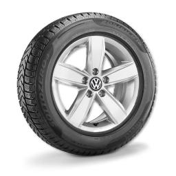Volkswagen Zubehör Alu-Winterkomplettrad