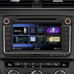 Radio-Navigationssystem RMT400N mit UKW, CD, USB, MP3, DAB+ ready, DVB-T-ready