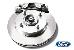 Bremsbeläge vorne erneuern FORD Fiesta 95-00