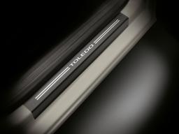 Einstiegsleisten-Satz Folie Schutzfolie Schutz SEAT Toledo