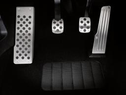 SEAT Original Sportpedale-Kit Pedalabdeckung in Aluminiumoptik Leon 1P Altea 5P