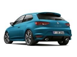 Dachkantenspoiler Spoiler Aerodynamik-Kit SEAT Leon SC