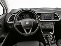 Dekorblende Armaturenbrett Aluminiumoptik SEAT Leon Leon SC Leon ST