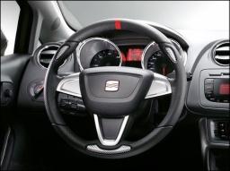 Original SEAT Lederlenkrad Lenkrad Leder Sportlenkrad 3 Speichen Ibiza 6J